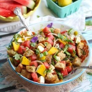 Summer Panzanella Salad