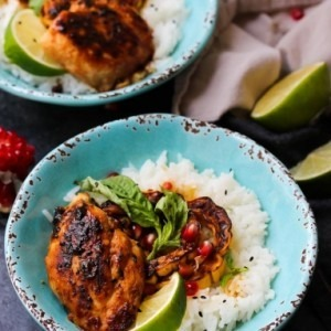 Sweet and Sour Thai Chicken Bowls