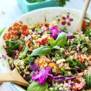 thai butternut quinoa salad