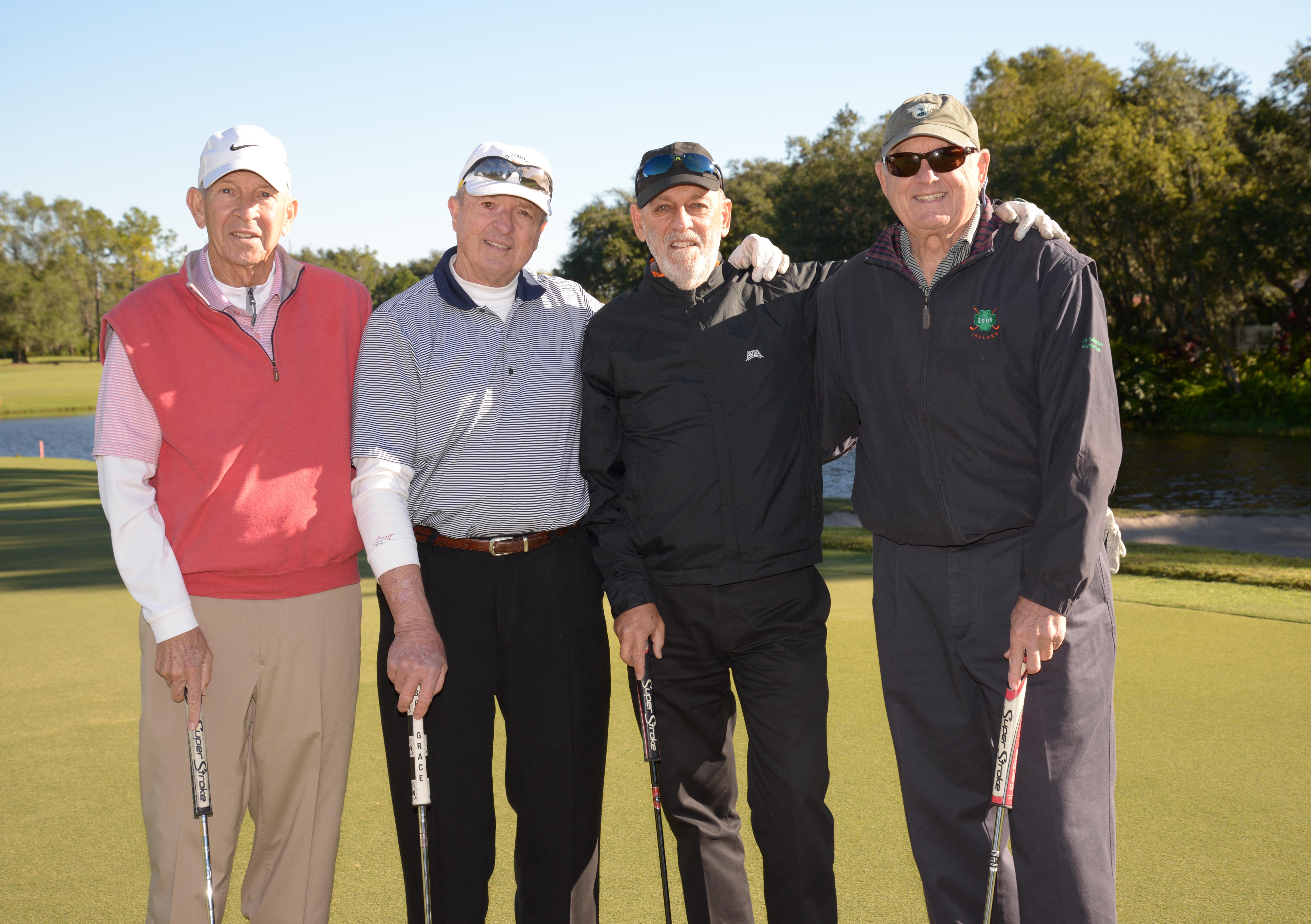 Les Muma, Joe Taggart, Sol Fleischman, and Dick Beard.