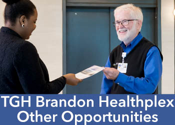 TGH Brandon Healthplex Other opportunities