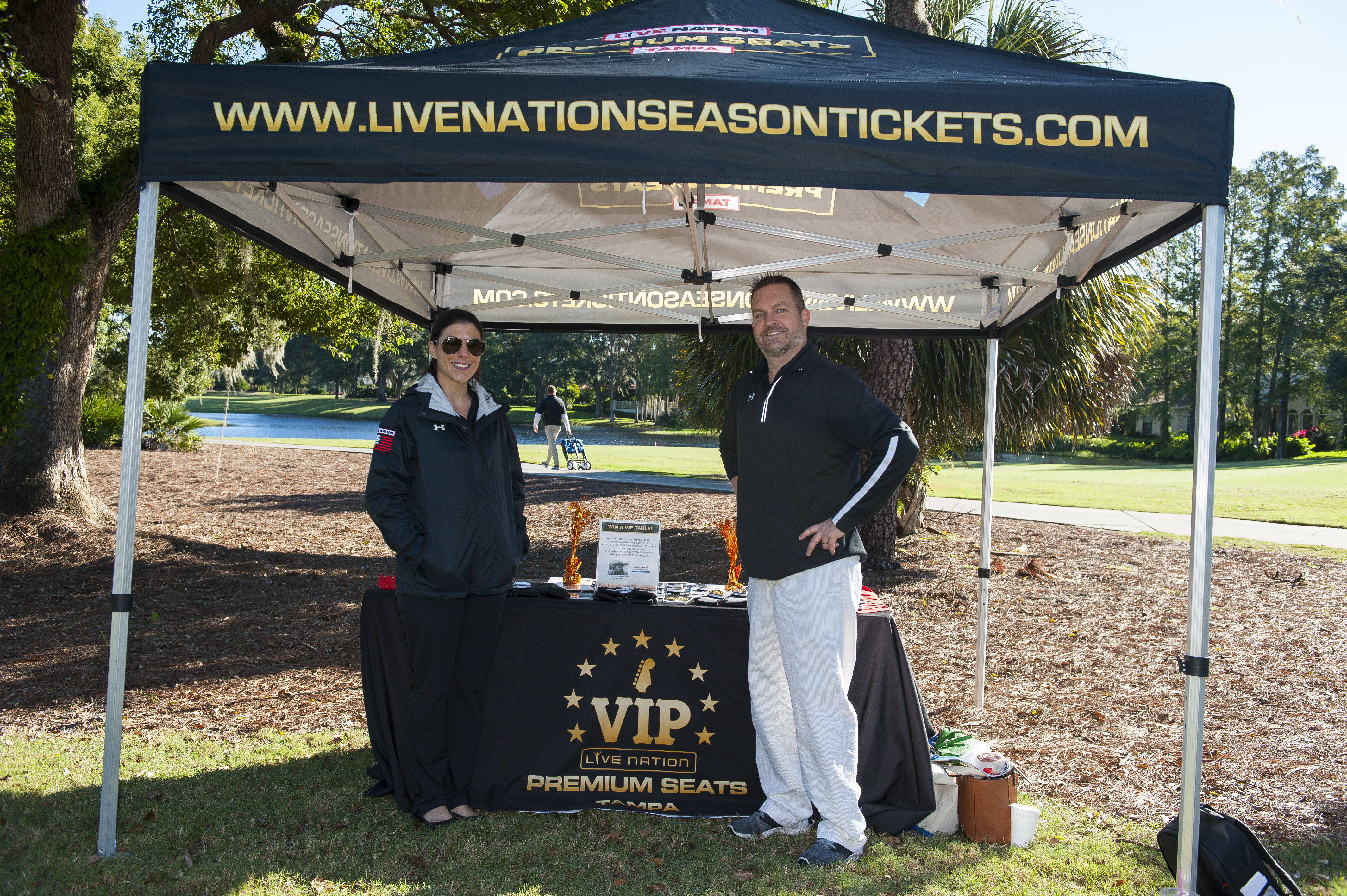 Special thanks to our Flop Shot Sponsor, MidFlorida Credit Union Premium Seating, represented by Brian Gallogly and Maria Pingeton.