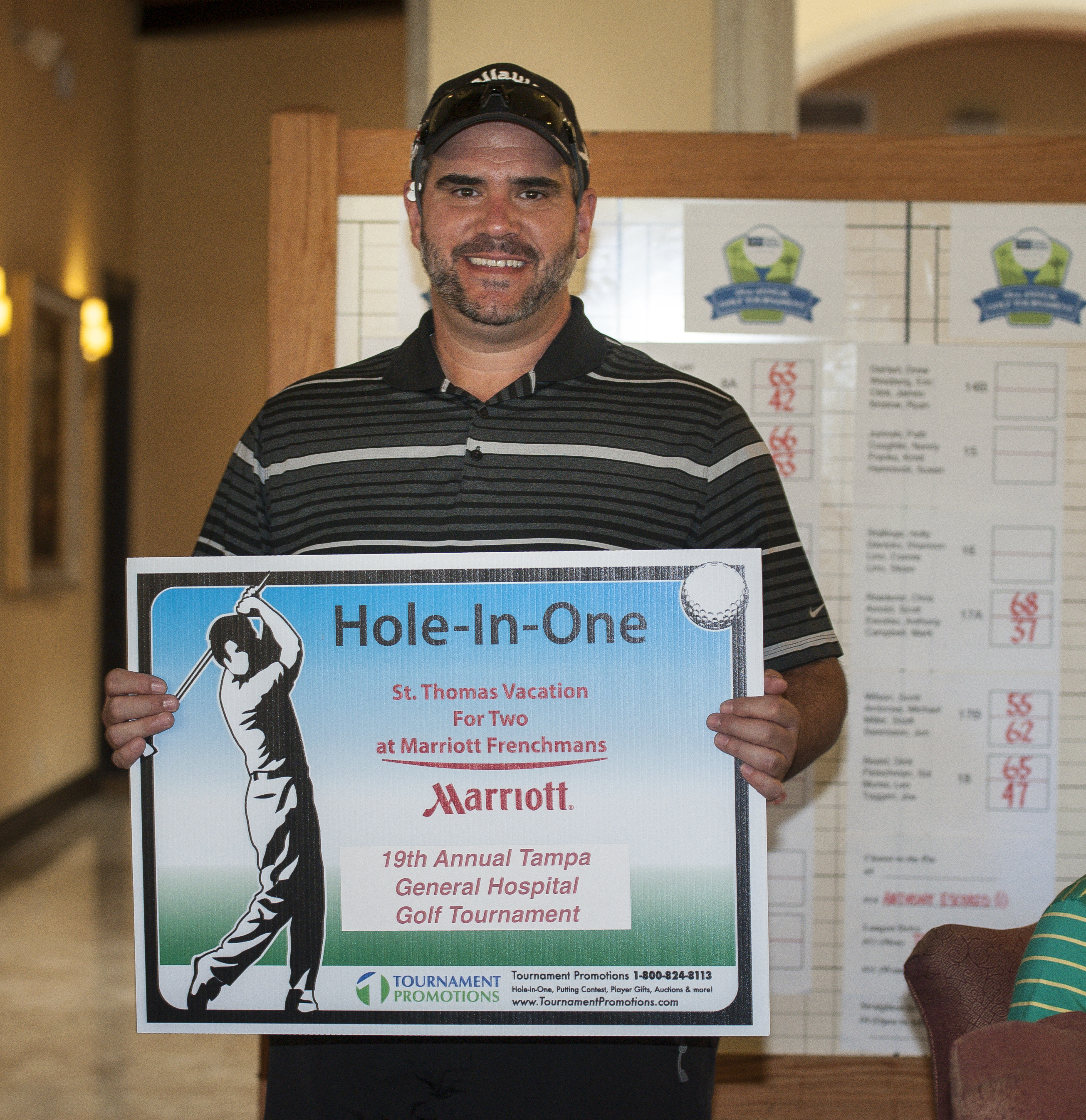 TGH Golf Tournament Hole In One Winner