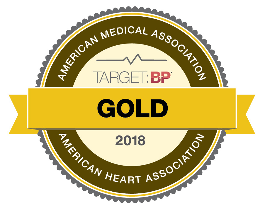 American Heart Association gold seal